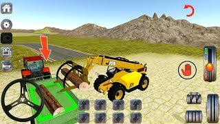 Tractor Excavator Dozer Forklift Driving Simulator Level 1-3 - Android Gameplay FHD