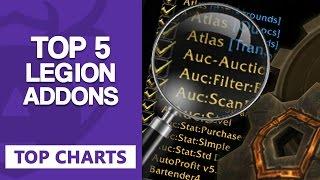 Top 5 Legion Addons - Top Charts [WoW] Legion / German