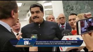 El dictador huyó ante la pregunta de @CarlaAngola - Aló Buenas Noches EVTV - 09/27/18 SEG 4