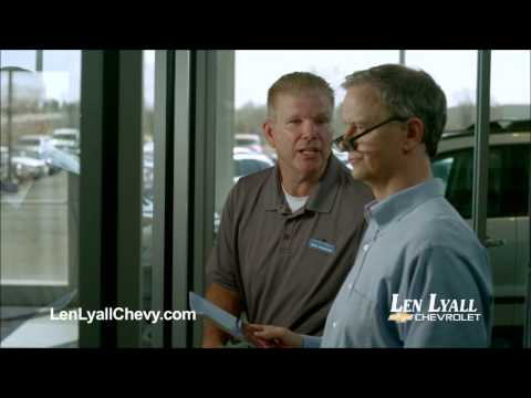 Jay Benedict BrownLen Lyall Chevrolet Commercials 4 and 5