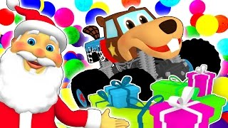 SUPER CIRCUS 3D Christmas Party | Children's Christmas Song, Busy Beavers Xmas Ball Pit Show & More