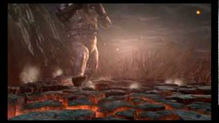 God of War 3 - Kratos vs Cronos Boss Battle Pt 2 (HD)