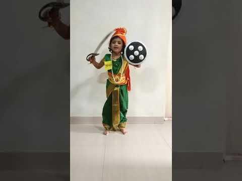 Rani of Jhansi - Dia- Fancy dress compition @ Rhythms Art Aura Carnival...