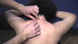 ASMR - Upper Back Tickle Massage - Very Relaxing