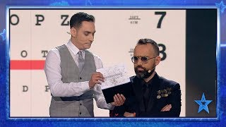 This MAGICIAN Can Make You FORGET How To READ | Semi-Final 4 | Spain's Got Talent 2019