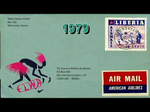 Radio Station ELWA 4760 KHz - Monrovia (Liberia) Sgn On in French and Sign Off in English - 1979