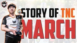 The Story of March | TNC Predator's Korean Dota 2 Captain