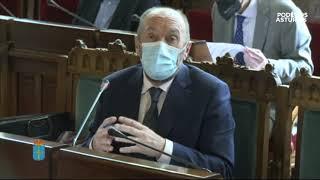 Comparecencia para informar sobre el sector público asturiano y la situación de los interinos