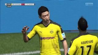Shinji Kagawa scores from a late pass