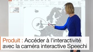 Transformer un vidéoprojecteur en un vidéoprojecteur interactif avec la Caméra interactive Speechi