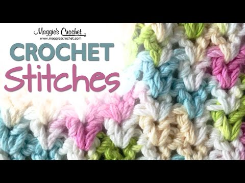 Stitch Repeat V-Stitch Free Crochet Pattern – Right Handed