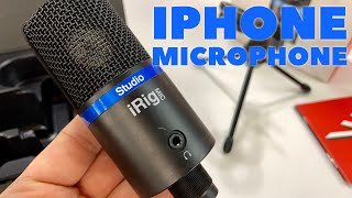 IK Multimedia iRig Studio Microphone is Plug and Play for iPhone