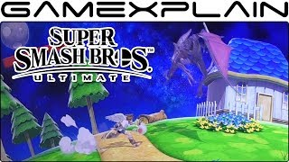 Super Smash Bros. Ultimate 1 vs 1 Gameplay - Ridley vs.Pit on Mario Galaxy Stage