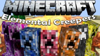 Да разгледаме #16 | Minecraft - Elemental Creepers |