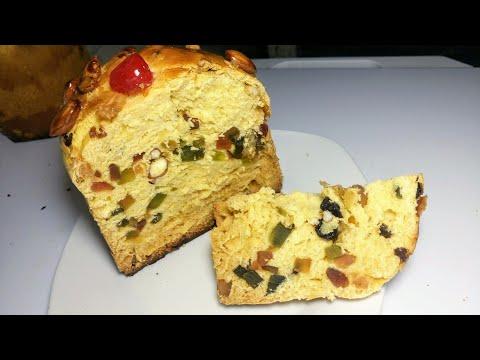 Pan dulce o panetonne sin masa madre