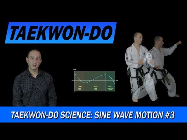Taekwon-Do Science: Sine Wave Motion #3