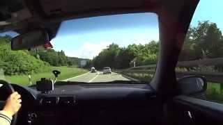 Driving from Schaffhausen Canton A1 (SH) to Stuttgart A81 (D)