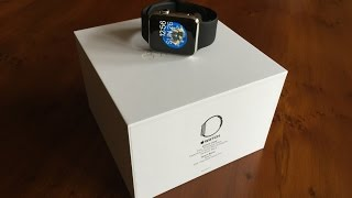 Unboxing: Apple Watch (42mm, Stainless Steel, Black Sport Band)