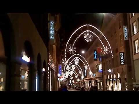 Schweiz Suisse Switzerland Shopping meile. walking tour.Travel Guide.Basel City .Freie Strasse