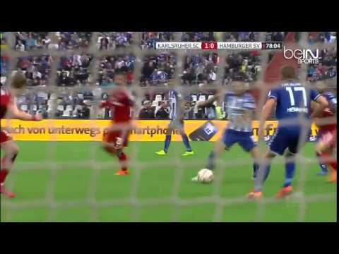 KARLSRUHE 1-2 HAMBURG a.e.t 1-1 Bundesliga relegation match