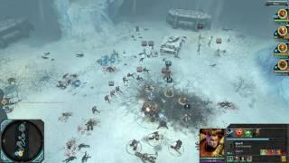 Warhammer 40000 Dawn of War 2 - Chaos Rising PC Gameplay 5870 HD