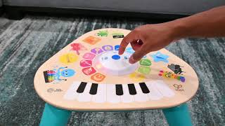 Baby Einstein Clever Composer Tune Table Magic Touch Activity Toy DEMO