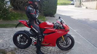 Going out for my First Ride on the Ducati 1299 Panigale S