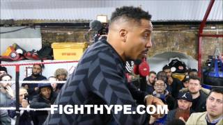 ANDRE WARD SAYS ADONIS STEVENSON IS A STEP BA...