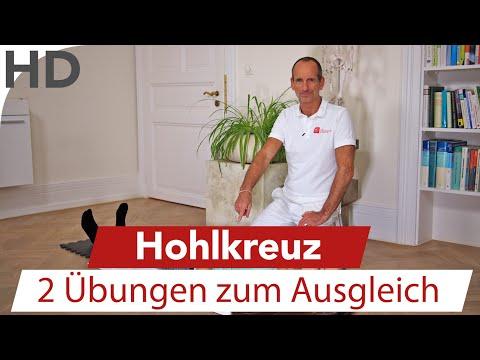 Übungen bei Hohlkreuz / Faszien Übungen / Rückenübungen / Übungen Rückenschmerzen