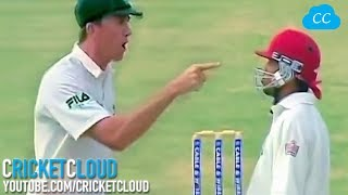 McGrath Sledging Shouting Screaming Pointing Finger But nothing worked at the End !! thumbnail