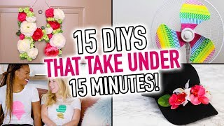 15 DIYs that take 15 Minutes or Less! - HGTV Handmade