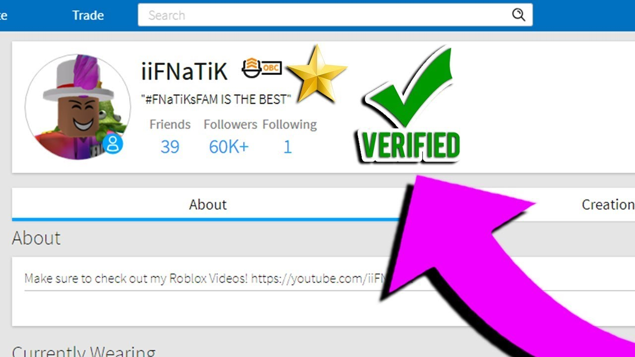 How To Get Verified On Roblox Star Program - https www youtube com roblox
