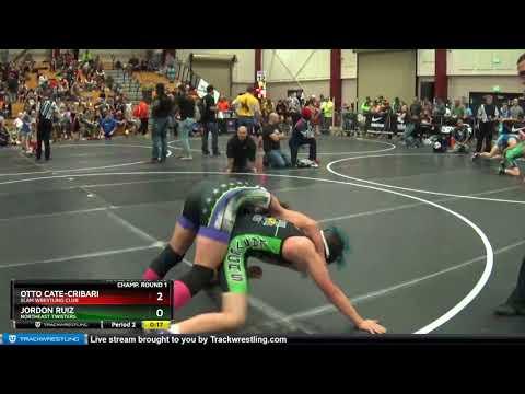 Middle School 102 Otto Cate-cribari SLAM Wrestling Club Vs Jordon Ruiz Northeast Twisters