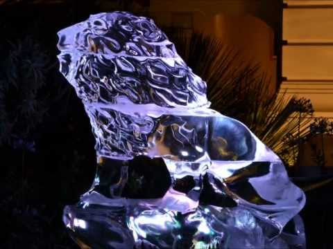 Ice Sculptures for Wedding of Prince Albert II, Monaco, France