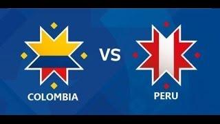 Peru vs Colombia RESUMEN COMPLETO Y GOLES 2015 8/10/2015