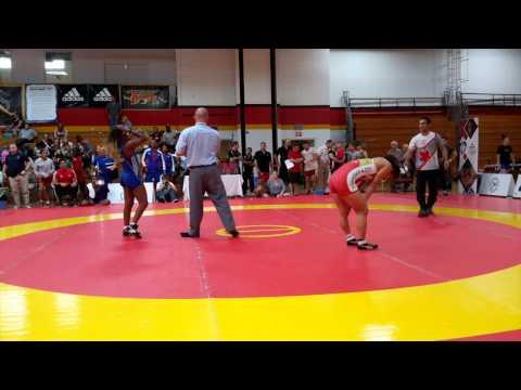 2015 Canada Cup: 53 kg Bronze Miyuu Yamamoto (JPN) vs. Yamilka Alvarez del Valle (CUB)