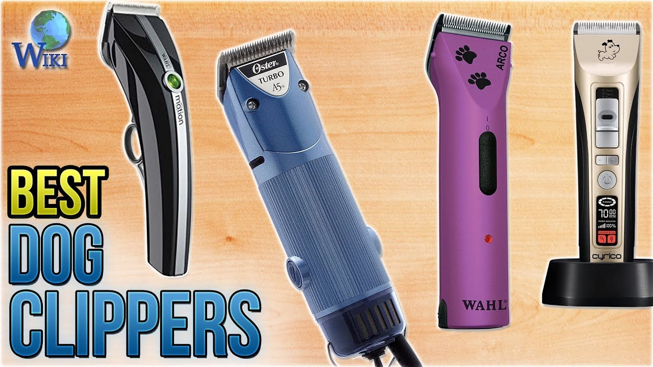 9 Best Dog Clippers 2018 Youtube