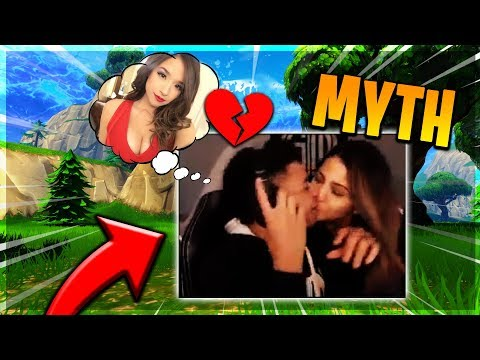 MYTH KISSES ANOTHER GIRL!? DOG ATE MARRIAGE CERTIFICATE!!! - Fortnite Moments #33