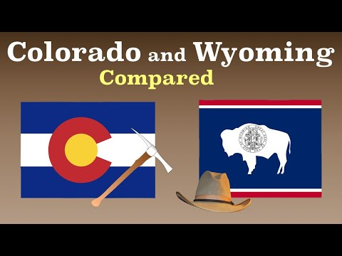 Colorado And Wyoming Compared