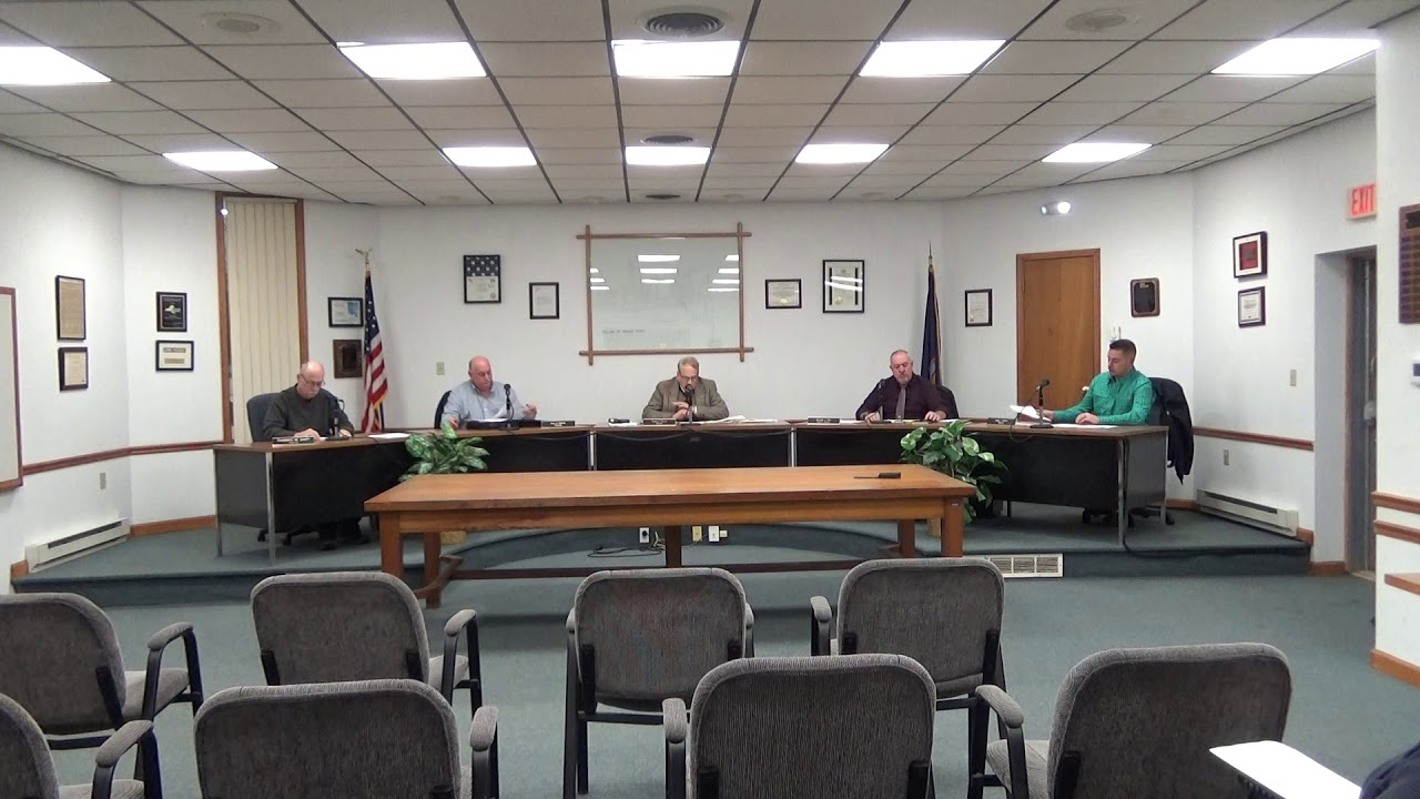 Rouses Point Village Board Meeting  1-21-20