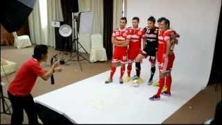 Behind-the-scenes new jersey BERJENAMA WARRIOS. (KELANTAN FA) 2013