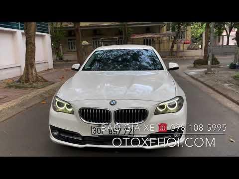 Bán xe ô tô cũ nhập khẩu hạng sang BMW 520i sx 2014