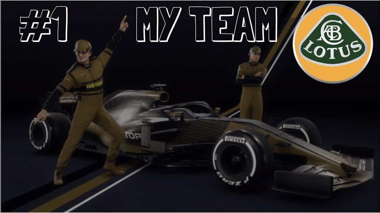 F1 2020 MY TEAM MODE : LE RETOUR DE LA LOTUS !