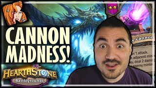 CANNON MADNESS?! - Hearthstone Battlegrounds