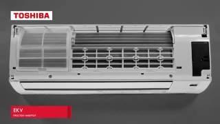 Кондиционеры TOSHIBA серии EKV(Купить кондиционер можно у нас на сайте: http://tsfera.com.ua/ Самые низкие цены!!! Простой инвертор в минимальной..., 2016-06-07T14:58:17.000Z)