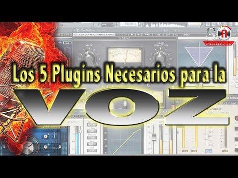 Los 5 Plugins Necesarios para La Voz - Studio A