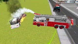 Fire Rescue 911 Simulator 3D (by Cilexi Games) Android Gameplay [HD]