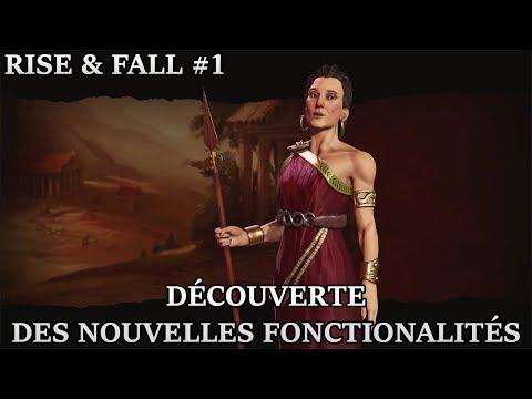 VoD - Civilization VI Rise & Fall - #1 Découverte des nouvelles fonctionalités