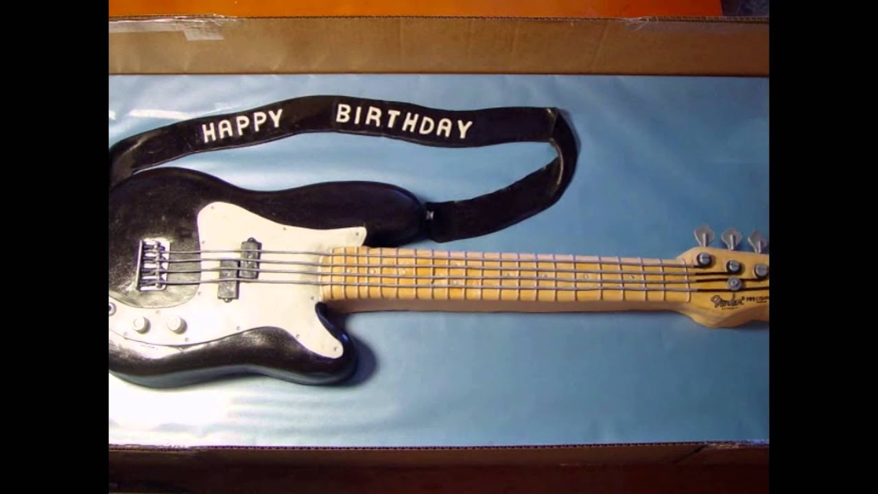 Guitar Birthday Cakes For Musicians By Httpdirectoryonnet