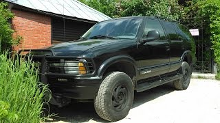 1995 Chevrolet Blazer Test Drive